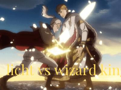 Licht VS wizaed king