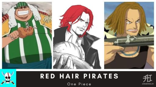 Red Hair Pirates - One Piece