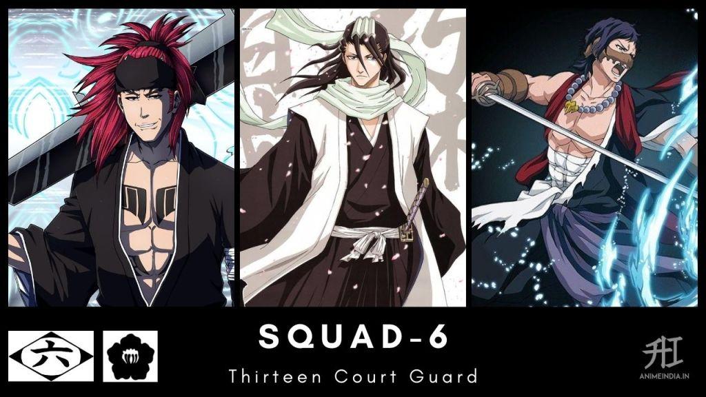 Squad-6 Thirteen Court Guard - Bleach