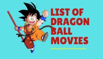 List of All Dragon Ball movies