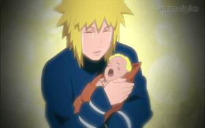 Minato haapy to se his son