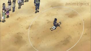Naruto and Sasuke Battle