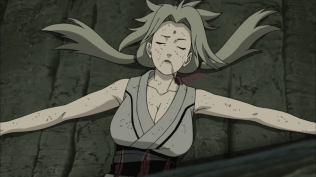 Tsunade Injured