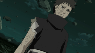 Obito healing injury