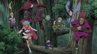 Obit's Six paths vs Kurama