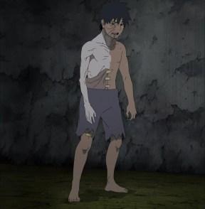 Obito heals his wound
