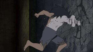 Obito Escaping form Madara