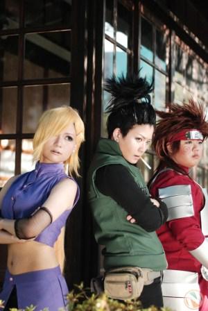 Naruto Anime Shikamaru Cos Play