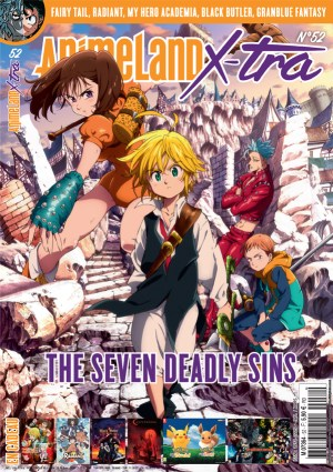 Couverture X-tra 52 The Seven Deadly Sins