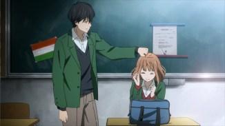 Kakeru's and Naho's love story