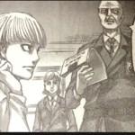 【進撃の巨人】ネタバレ109話考察!義勇兵拘束からの展開を予想!イェレナとピクシスは?