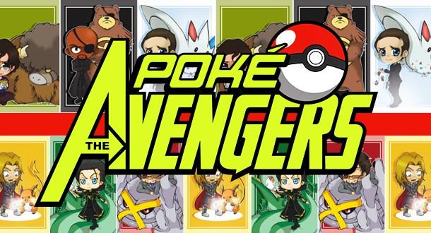 Personagens dos Vingadores se eles fossem caçadores de Pokémon!
