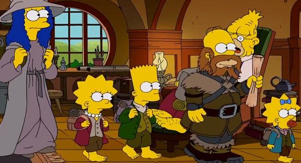 Os Simpsons: Veja a abertura em homenagem a 'O Hobbit'