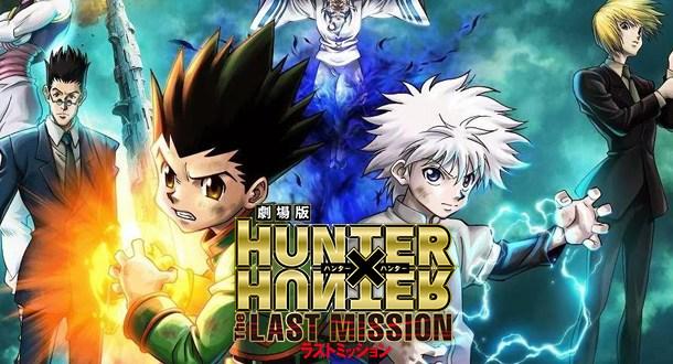 Hunter x Hunter: The Last Mission é primeiro lugar nas bilheterias!