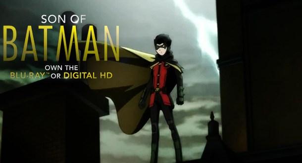 Assista ao trailer de  Son of Batman!