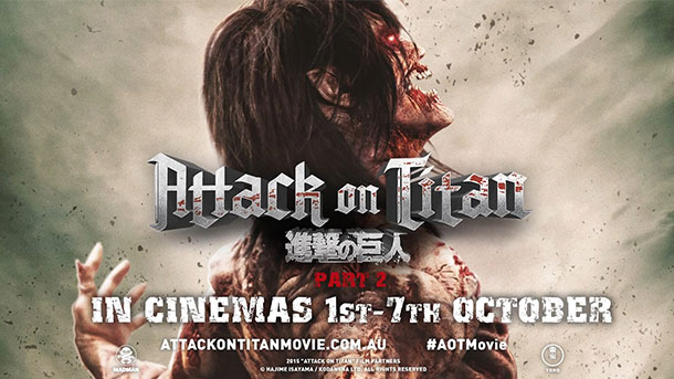 Attack on Titan - Trailer do segundo filme live-action!