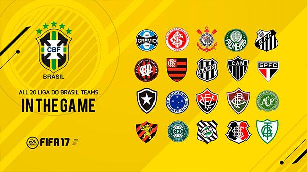 FIFA 17 - A liga do Brasil está de volta!