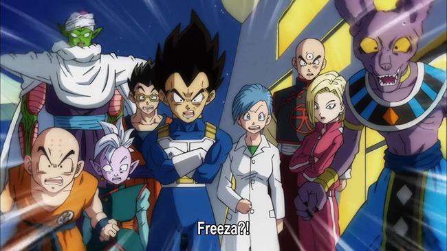 Freeza time de Goku