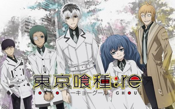 Tokyo Ghoul:re ganha trailer tenso e imagem promocional!