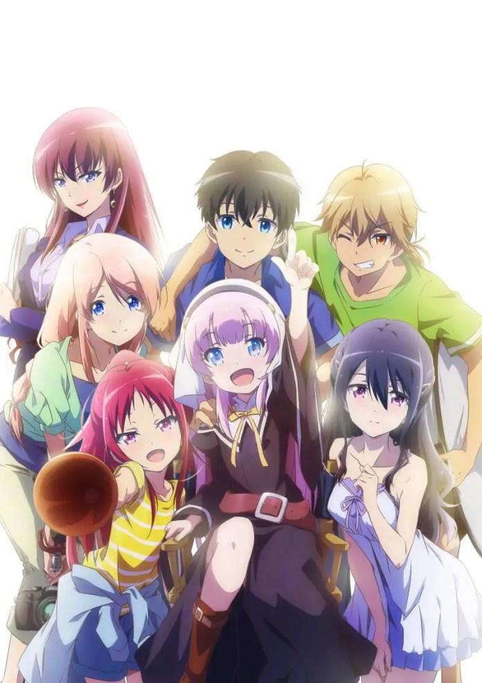 The Day I Became a God Anime Key Visual