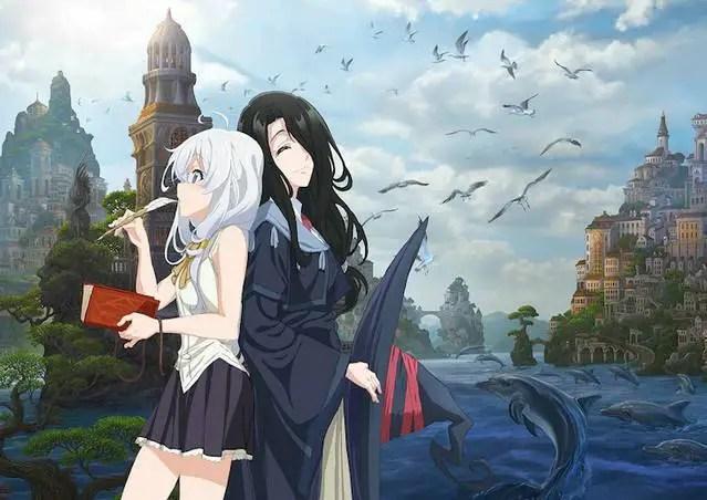 Wandering Witch: Journey of Elana (Majo no Tabitabi) Key Visual