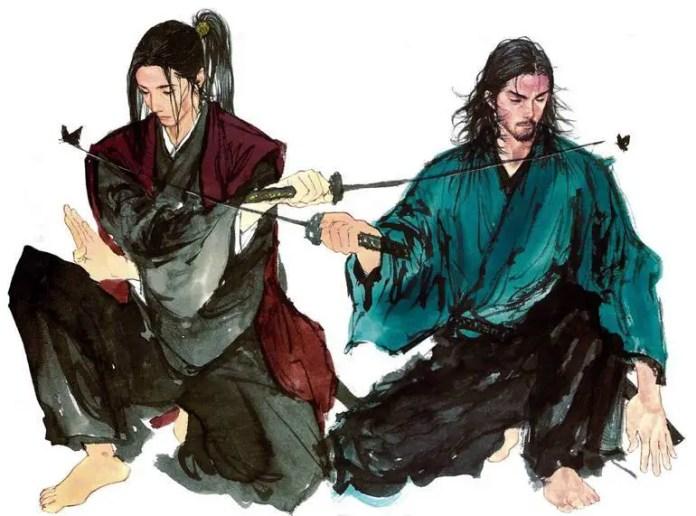 Kojiro and Musashi Vagabond Chapter 328