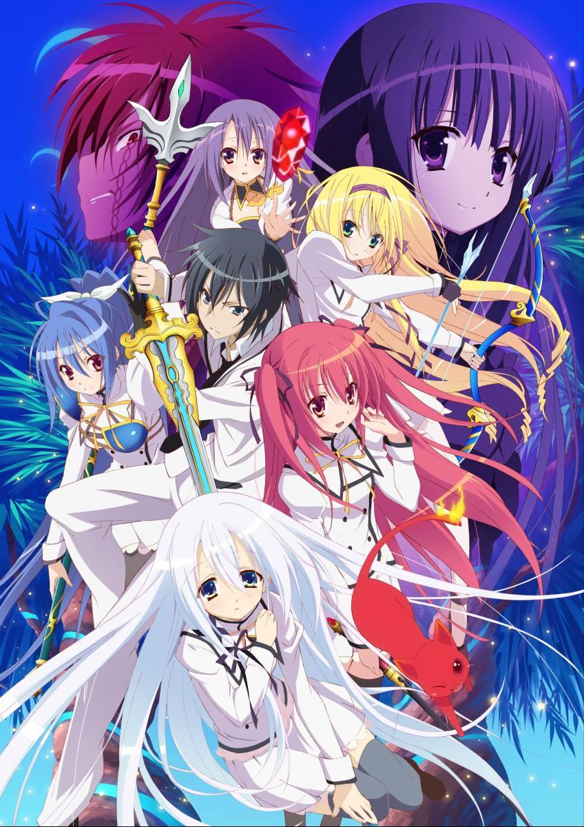 Seireitsukai No Blade Dance : seireitsukai, blade, dance, Blade, Dance, Elementalers, Anime, Network