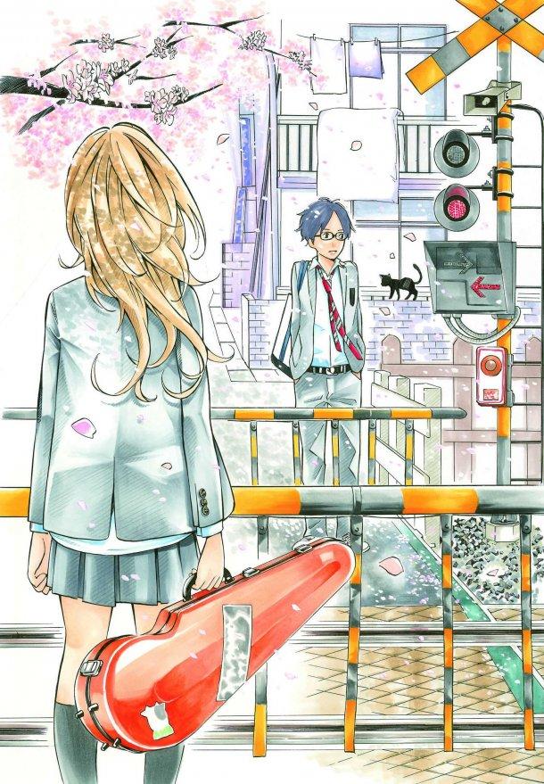 Your Lie In April Manga : april, manga, April, (manga), Anime, Network