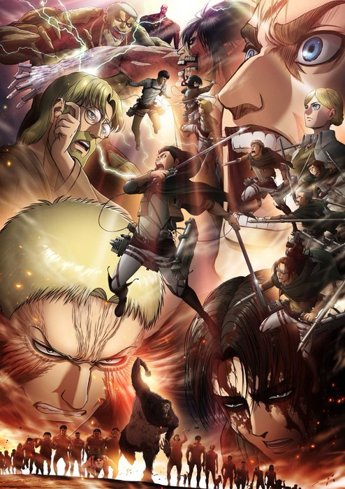 Attack On Titan Saison 3 Streaming : attack, titan, saison, streaming, Attack, Titan, 4/2019), Anime, Network