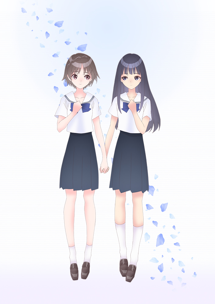 Anime Blue Reflection Ray Visual