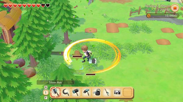 Story of Seasons: Pioneers of Olive Town gameplay 1