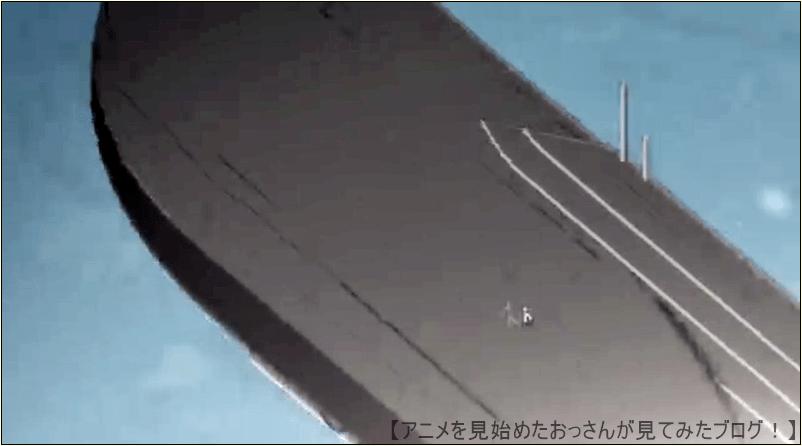飛行船から吹き飛ばされて、飛行船の上に着地BAKUMATSU アニメ はヒドイ設定・演出の数々 【つまらない】「BAKUMATSU」をアニメを見始めたおっさんが見てみた!【評価・レビュー・感想★☆☆☆☆】 #ばくかれ #BAKUMATSU