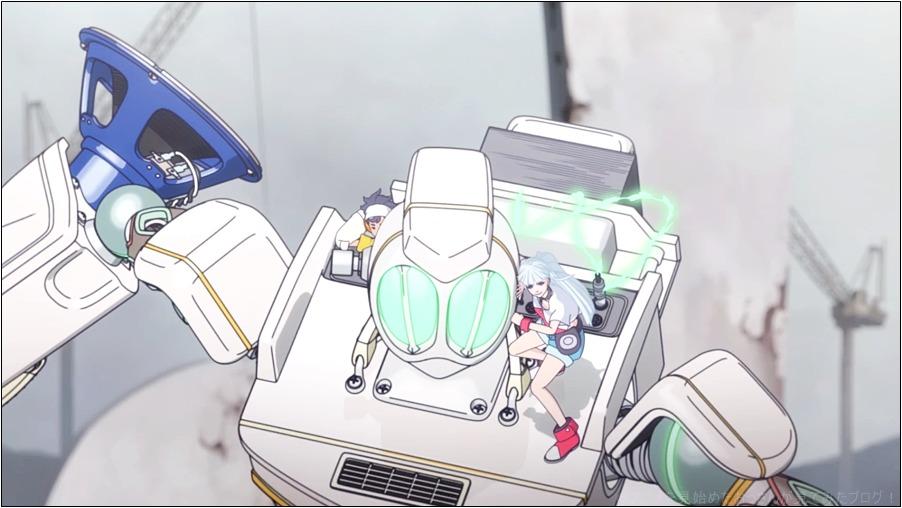 LISTENERS リスナーズ アニメ はロボットがダサい!カッコよくない!つまらない!すぐに終わる!