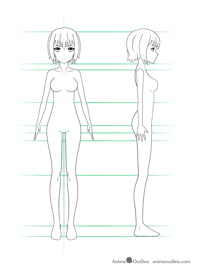 Female Anime Template : female, anime, template, Anime, Tutorial, AnimeOutline