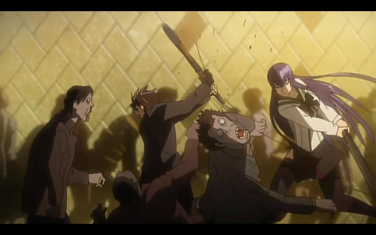 High School Zombie Anime Episode 11
