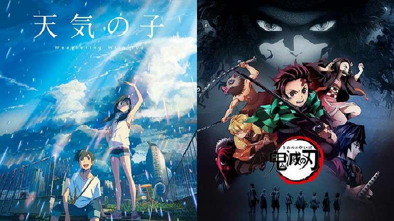 Anime Kimetsu No Yaiba Dan Tenki No Ko Menangkan Grand Prix Anime