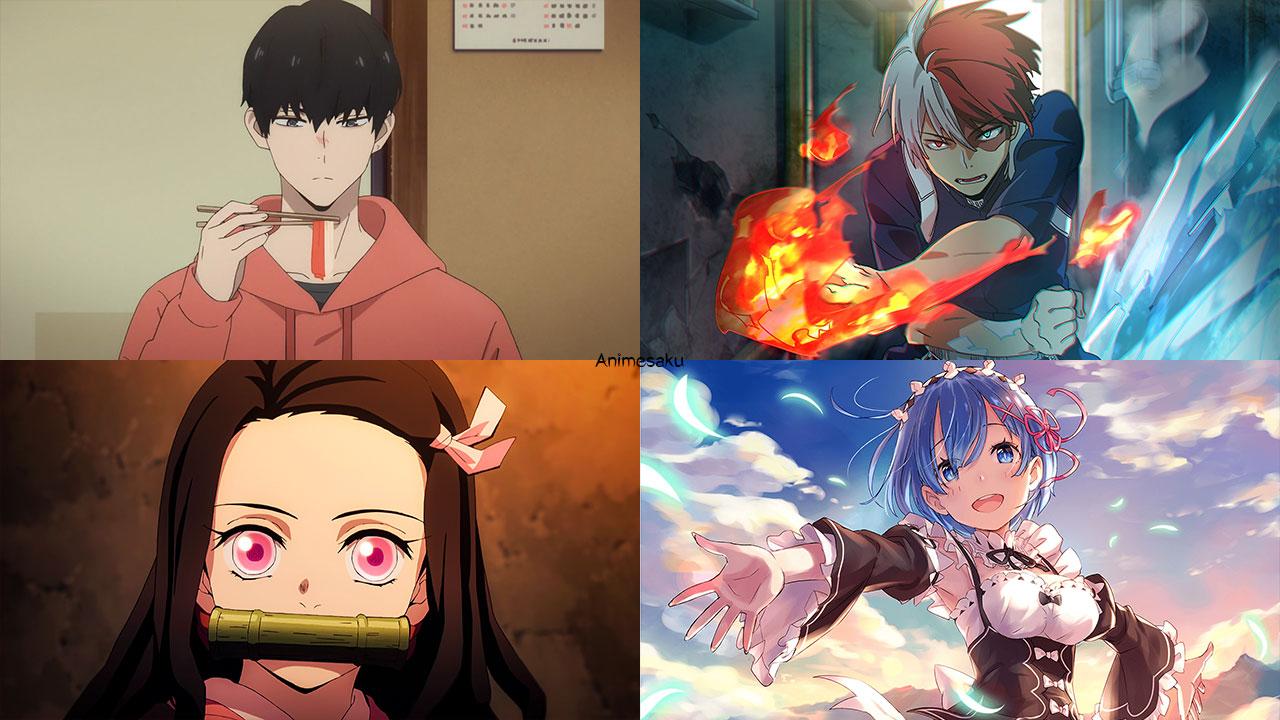 Karakter Anime & Game Terpopuler di Fall Menurut Majalah Animage
