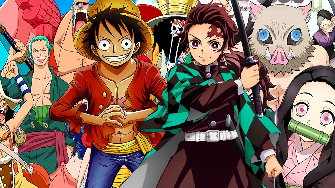 One Piece Puji Kimetsu no Yaiba