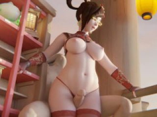 Mei Thighjob Overwatch (Animation W/Sound)