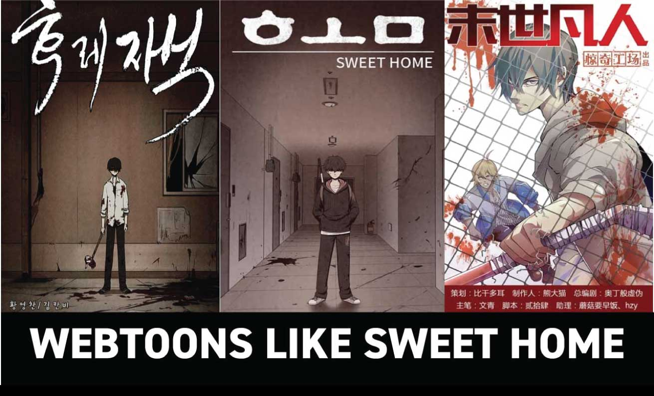 This is the original behind the new horror sensation on netflix, sweet home! The Only 7 Webtoons Like Sweet Home You Need To Read Anime Ukiyo