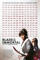 Takashi Miike's 100th film Blade of the Immortal heads to UK Cinemas