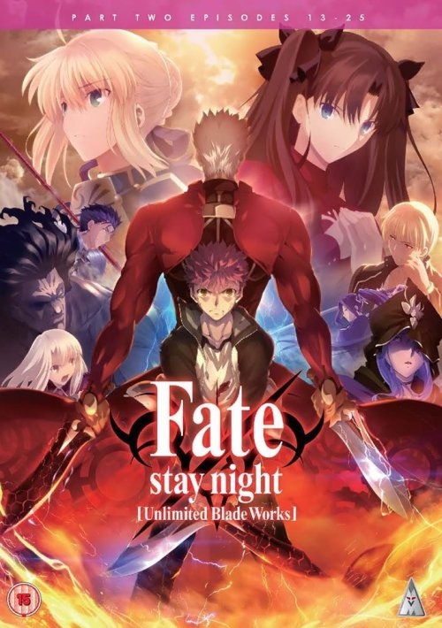fate UBW part 2 cover DVD