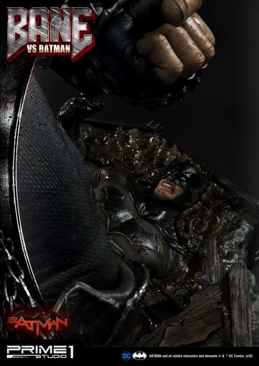 Bane VS Batman Statue UMMDC-02