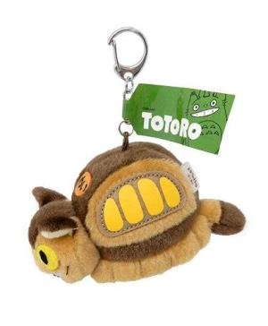My Neighbor Totoro Catbus Fluffy Keychain