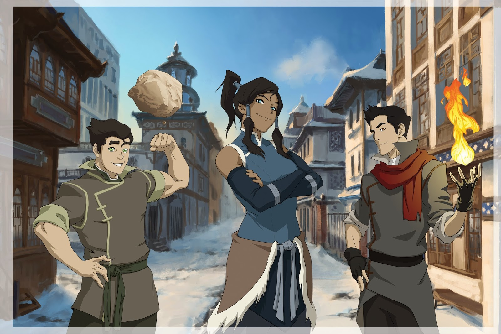 Galaxy S4 Fall Wallpaper Legend Of Korra Season 1 13 Widescreen Wallpaper Animewp Com