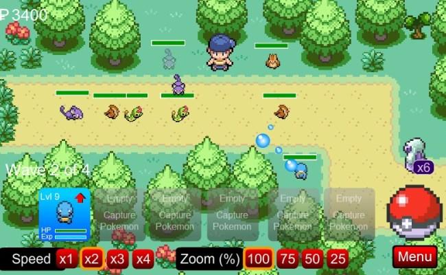 Pokemon Tower Defense Hacked 38 Hd Wallpaper Animewp