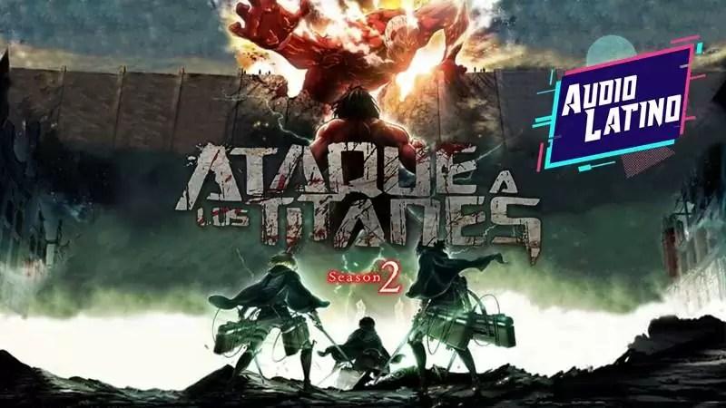 Ataque a los Titanes Temporada 2 Latino
