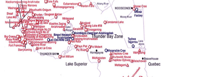 Animikii Ozoson service map area