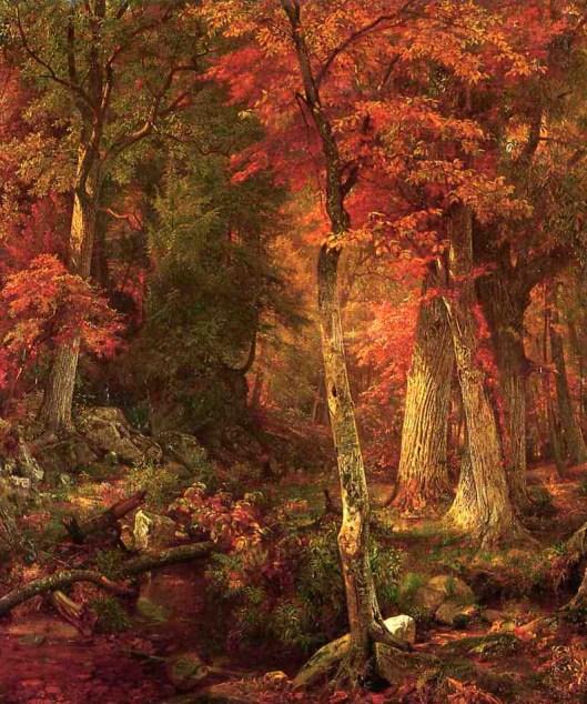 william-trost-richards-forest-interior-in-autumn