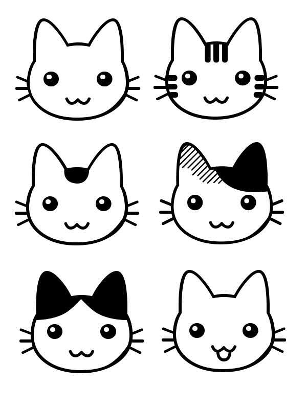 Dessin de chat - Dessins de chats rigolos ...